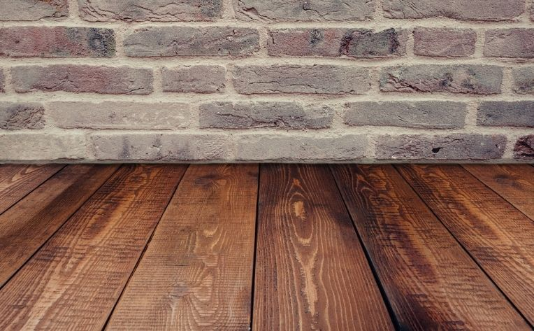 Clean Hardwood Flooring Example
